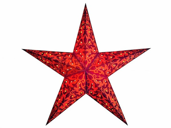 Bild von starlightz furnace red/orange earth friendly Leuchtstern