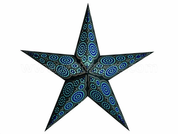 Bild von starlightz marrakesh black/turquoise earth friendly Leuchtstern