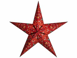 Bild von starlightz diwali red earth friendly Leuchtstern