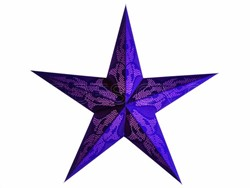 Bild von starlightz damaskus violet earth friendly Leuchtstern